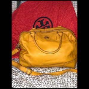 Tory Burch Yellow bag!